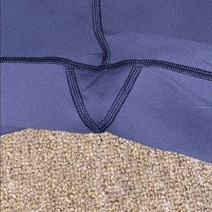 lululemon athletica Pants - Blue Lululemon Crop Leggings — Like New!